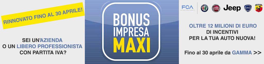 bonus maxi impresa