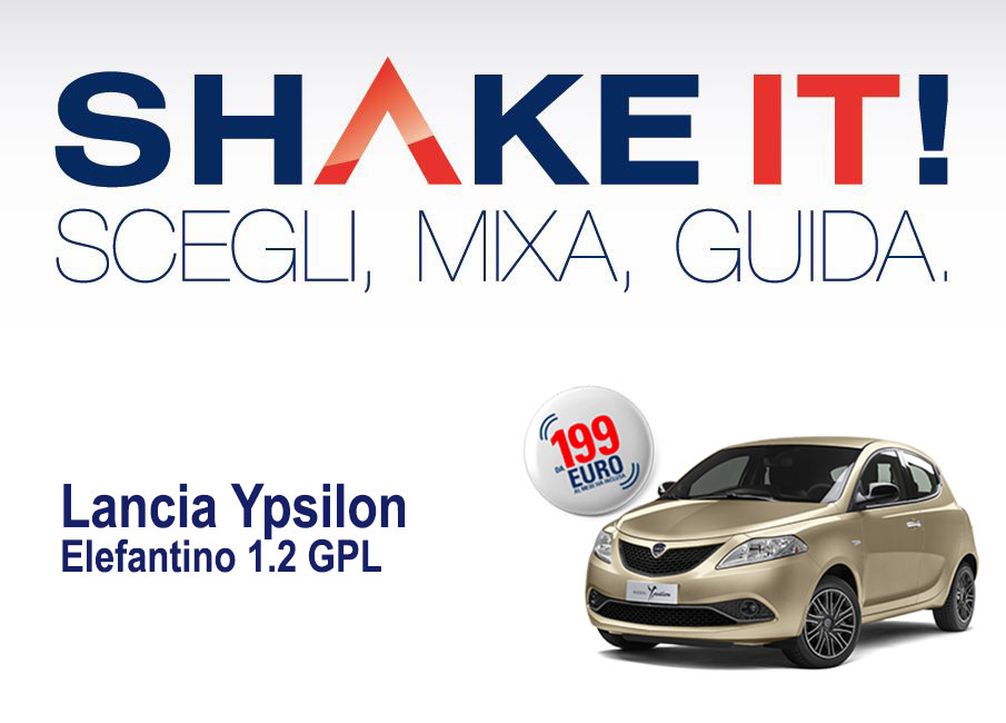 Noleggio Ypsilon Shake it