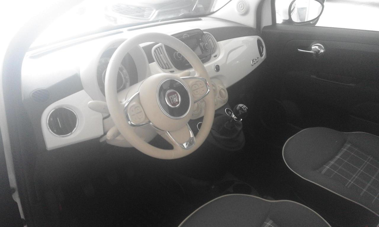 KM 0 FIAT 500 LOUNGE 6