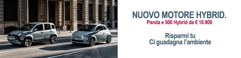 Fiat Hybrid, Fiat 500 Hybrid, Fiat Panda Hybrid