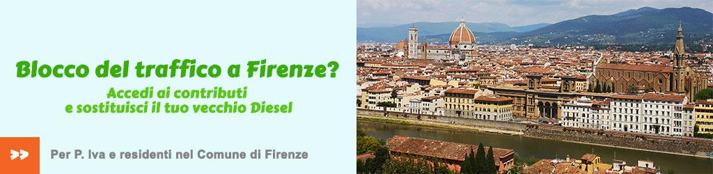 Incentivi per cambio auto a Firenze